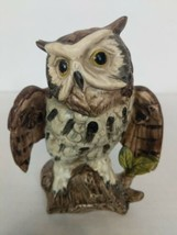 Owl Figurine Made In Japan 5 Inches Tall - $11.95