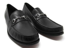 Cole Haan Grand O's Men's Horse Bit Black Leather Dress Loafers Size Sz ... - $69.68