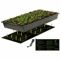 Plant Heating Mat Hydroponic Seed Electric Pad Flower Blanket Greenhouse... - $31.99