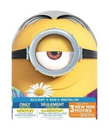 Minions Exclusive Metal Packaging Collector's Limited Deluxe Edition Blu... - $18.38