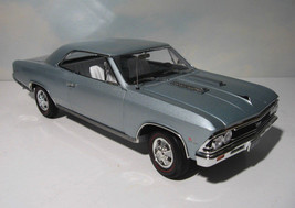 ~ 1966 Chevelle SS -  Muscle Car Nationals  1:18 - Chateau Slate   1/100... - $109.95