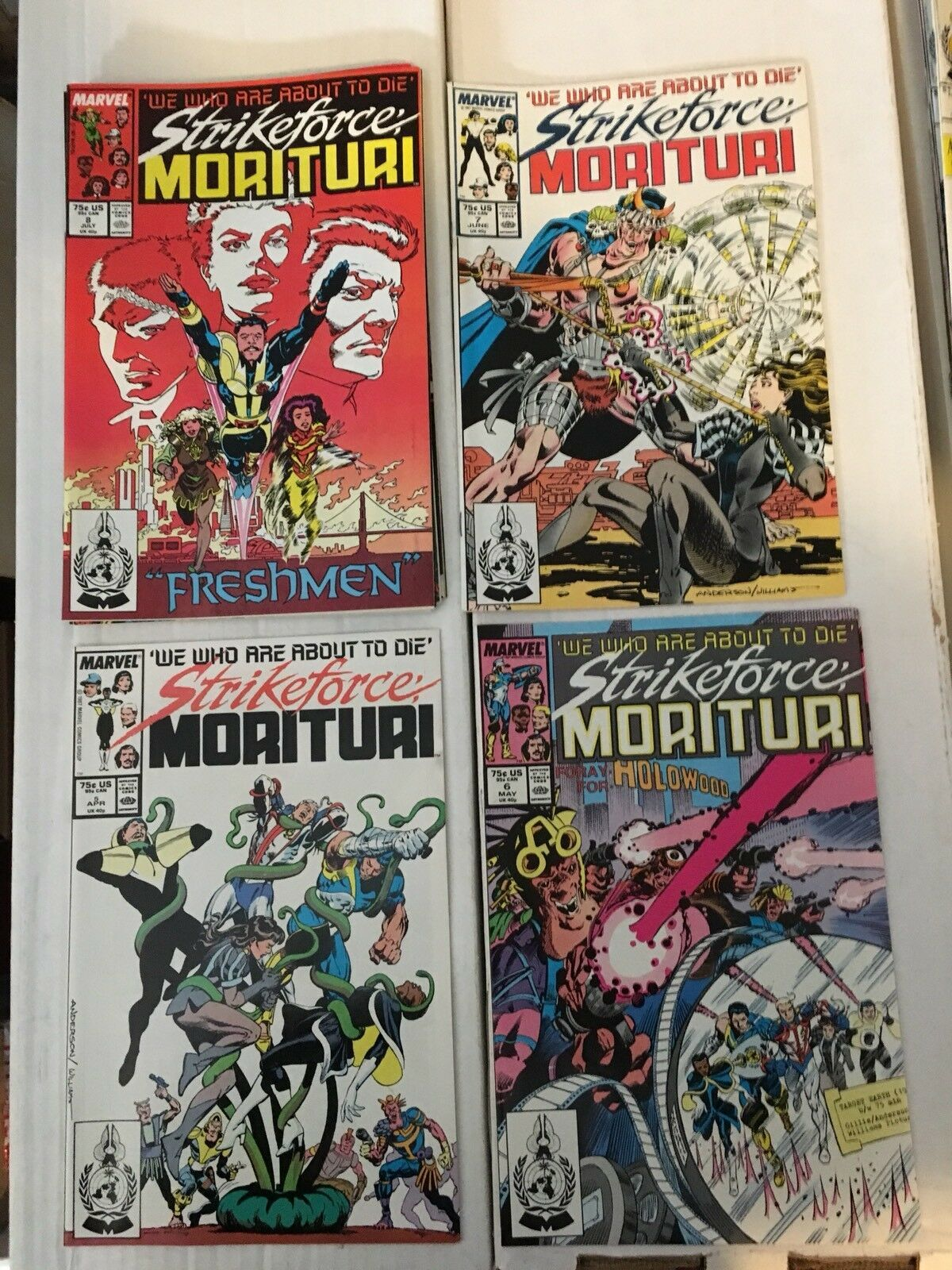 Strikeforce Morituri 1 - 31 Marvel Comic Book COMPLETE SET 1986-89 Minus 1 Issue