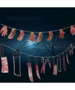 Newst 2018 Spooky Halloween Party Haunted House Hanging Garland  Banner ... - €4,38 EUR