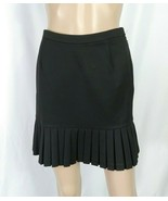Ciello Couture Boutique Black Mini Skirt SZ 2 Knife Pleated School Girl ... - $7.70