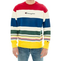 HOODIE MAN CHAMPION CREWNECK SWEATSHIRT 212792.WL009OFW  MULTICOLOR - $101.99