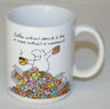 Coffee Without Doughnuts Is Like Week Without Weekend Mug Donuts Humor Hallmark - $9.85
