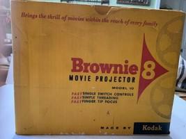 Brownie Kodak Model 10 8mm Movie Projector - For Parts or Repair - $39.95