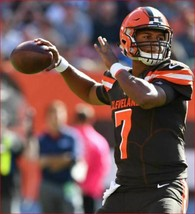 new Nike men jersey shirt NFL Cleveland Browns Kizer 7 drifit 912947-241 XL - $36.64