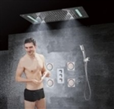 Reno Brass Shower Set- 6 functions - $1,721.00