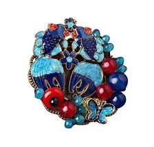 Traditional Arts Clothing Accessories Scarves Cappa Brooch Pin