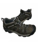 Keen Women's Brown Leather Voyageur Hiking Trail Boots Size 10.5 US 1004270 - $32.99