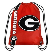 GEORGIA BULLDOGS DRAWSTRING SIDE STRIPE BACKPACK FREE SHIPPING BRAND NEW... - ₹851.47 INR