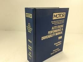 1996-1998 MOTOR Auto Engine Performance & Driveability Manual General Mo... - $99.99
