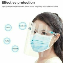 Safety Full Face Shield Reusable Washable Protection Cover Anti-Splash Guard image 3