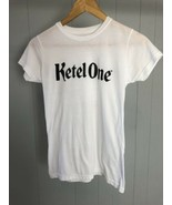 "Women's Tangerine White ""Ketel One"" Graphic T-Shirt Size Small  - $9.49"
