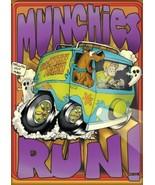 Scooby-Doo! Animation Mystery Machine Munchies Run! Refrigerator Magnet ... - $3.99