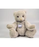 GUND Gray Teddy Bear GUNDY 1986 Plush Animal Stuffed Toy Doll Limited Ed... - $15.01