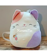 """Kellytoy Squishmallows Backpack Charlotte The Kitty Cat Pet Plush 12"""" NEW - $45.36"""