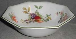 Johnson Brothers FRESH FRUIT PATTERN Serving or Vegetable Octagonal Bowl... - $19.79