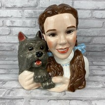 Wizard Of Oz Dorothy And Toto Cookie Jar Warner Bros Judy Garland - $85.47