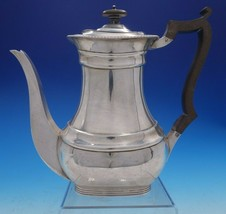 William Hutton & Sons Estate English Silver Tea Pot with Wood Handle (#4... - $999.00