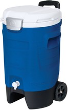 Igloo 5-Gallon Beverage Roller, Majestic Blue - $47.40