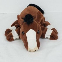 """Caltoy Horse Plush Puppet 10"""" Stuffed Animal Toy Brown Pony  - $32.99"""