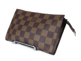 LOUIS VUITTON Damier Canvas Pouch Accessories Bag LP2713 - $219.00