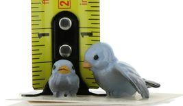 Hagen Renaker Miniature Bluebird Tweety Ma and Chick Ceramic Figurine Set of 2 image 9