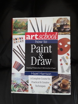 Art School: How to Paint and Draw - Hardcover Book - $14.95