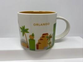 Starbucks 2012 Orlando Florida You Are Here 14oz Stackable Coffee Cup Mug - $21.77