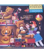 Milton Bradley Charles Wysocki Childhood Memories 1000 Pcs Puzzle NEW - $11.87