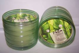 2 Bath & Body Works Palm Leaves & Mango 3 Wick Scented Candle 14.5 oz - $43.99