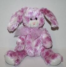 """Fiesta Purple Tie Dye EASTER BUNNY RABBIT 6"""" Long Ears White Soft Toy Pl... - $13.52"""