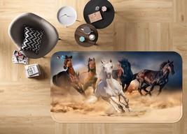 3D Horses 26 Non Slip Rug Mat Room Mat Quality Elegant Photo Carpet UK S... - $106.68+