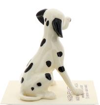 Hagen-Renaker Miniature Ceramic Dog Figurine Dalmatian Sitting image 2