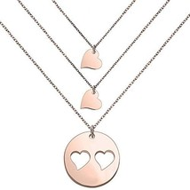 SEIRAA Mother Daughters Necklace Set Mom Daughter Heart Jewelry Gift for... - $18.61