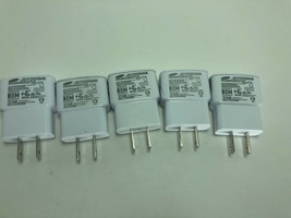 LOT OF 5 Samsung ETA0U61JWE AC Travel Power Wall USB Adapter Charger 5.0... - $12.19