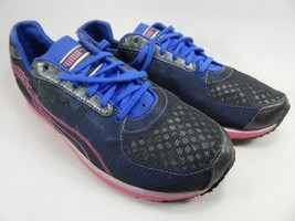 Puma Faas 250 Women's Running Shoes Size US 10.5 M (B) EU 42 Gray / Blue / Pink