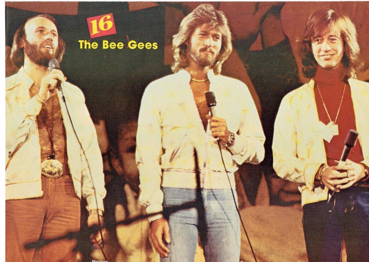 Bee Gees teen magazine pinup clipping Tiger Beat Teen Beat Superteen