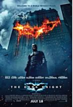 "2008 THE DARK KNIGHT Batman Movie POSTER 27x40"" Christian Bale  - $15.99"