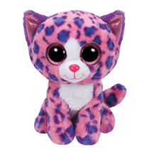 "Pyoopeo Original Ty Boos 6"" 15cm Reagan the Leopard Plush Regular Big ey... - $9.69"