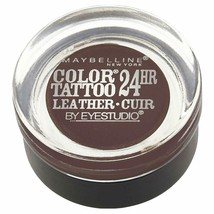 Maybelline Eyestudio ColorTattoo Leather 24HR Cream Eyeshadow 95 Chocola... - $5.90