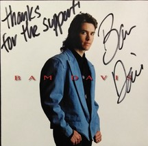 BAM DAVIS Autrographed CD - $14.95