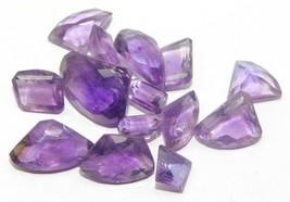 Amethyst Quartz Genuine Natural Cut Loose Gemstone Lot Purple 44Cts. 24124 - $17.51