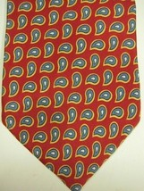 NEW Brooks Brothers Red With Light Blue and White Paisley Silk Tie - $29.99