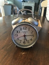 Sterling & Noble Clock Company Farmhouse Collection Twin Bell Alarm Clock - $14.85