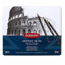 Derwent Graphic Pencils, Metal Tin, 24 Count (34202) - $39.59