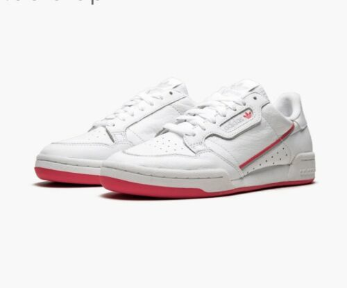 Adidas Continental 80 White/pink For Women Size 9.5 - $60.78