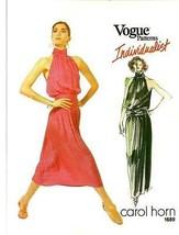 Vintage Pattern V1689 Carol Horn 10 - $65.00